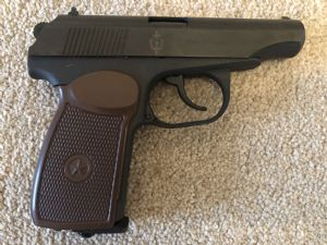 Baikal .177 Makarov Legend Pistol KGB marked blue